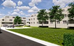Neubau von 112 Wohnungen in Niederbipp