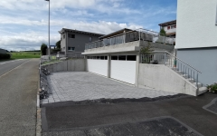 Neubau Garage und Wintergarten in Roggliswil