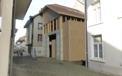 Rück- und Neubau der alten Sennschüür in der Altstadt von Zofingen/AG